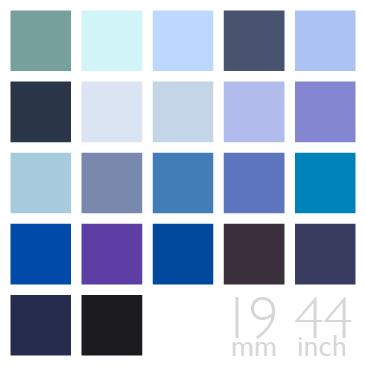 Silk Charmeuse Fabric Blue Navy Color Group