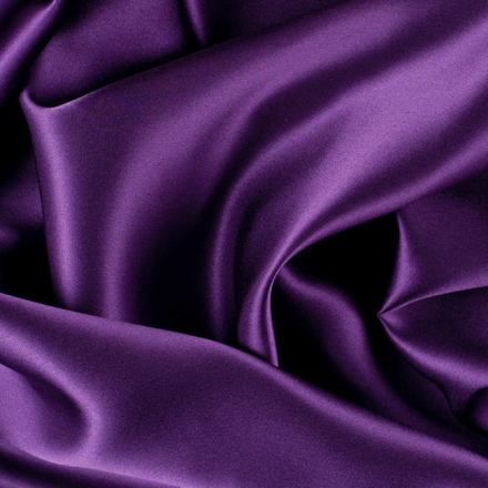 Royal Purple Silk Charmeuse Fabric